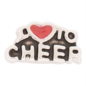Picture of I Love To Cheer Charm